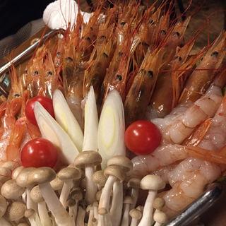 海老しゃぶ(串遊海鮮かいり)