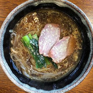 醤油ラーメン(中国四川料理 錦水苑)