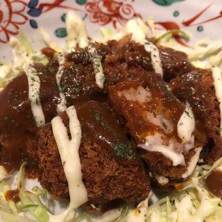 洋風鶏メンチカツ(釜焼鳥本舗おやひなや 渋谷ハチ公口店 )