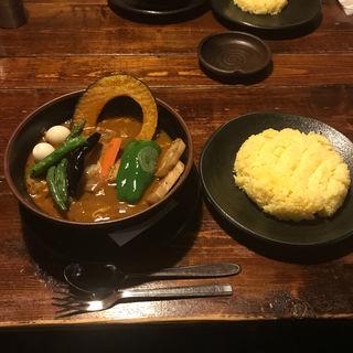 チキンスープカレー(ラマイ 札幌中央店)