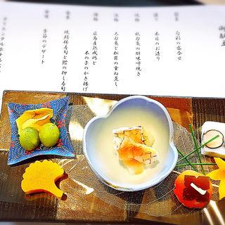 旬彩の盛り合わせ(日本料理 みつき )