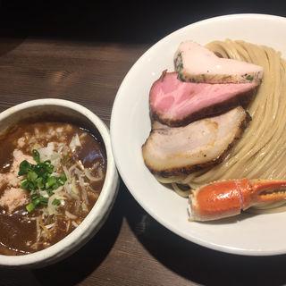 蟹カレーつけ麺大盛り(つけ麺一燈 (ツケメンイットウ))