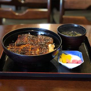 特上丼(うなぎの旭屋)
