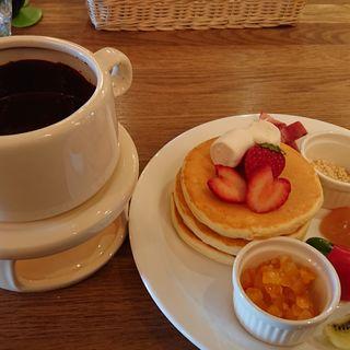 チョコレートフォンデュパンケーキ(MOGMOG (モグモグ))