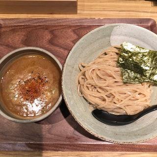 渡り蟹のつけ麺(麺屋 百式 (めんやひゃくしき))