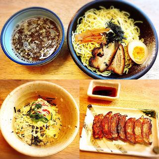 こりくつけ麺+明太マヨご飯+焼き餃子(七個)(こりく )