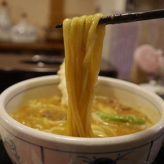 カレーうどん(茄子天トッピング)(饂飩工房 うばら)
