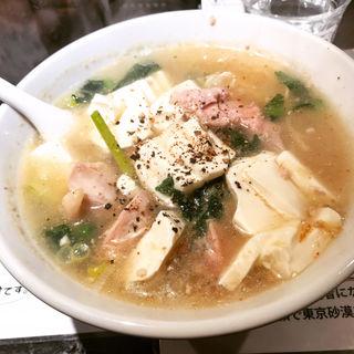 みんな大好き豆腐らー麺(塩生姜らー麺専門店 MANNISH (マニッシュ))
