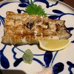鰻の白焼き