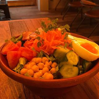 ファーマー野菜のパワーサラダ(Egg Baby Cafe)