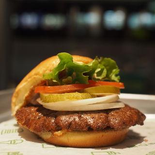 hamburger(シェイクシャック 茶屋町店)