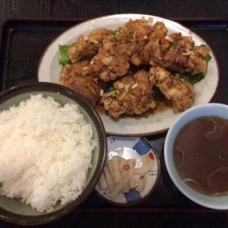 油淋鶏定食(みんぱい )