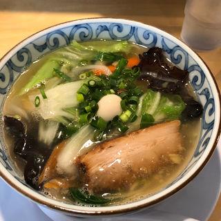 10目塩生姜あんかけラーメン(武者気)