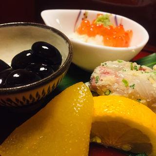 編笠柚子、黒豆、きらすま飯