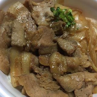 ホットシェフ 豚丼(セイコーマート 山鼻9条店)