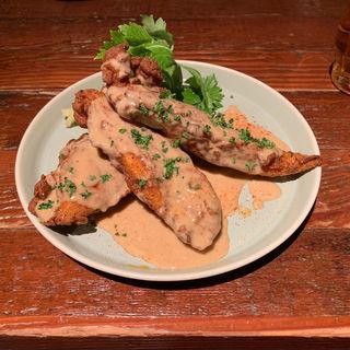 Dixie Fried Chicken with creamgraveysauce 3piece(BUDDYBUDDY SENDAI EDEN)