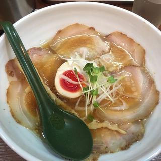 チャーシューそば(麺屋 はなぶさ )