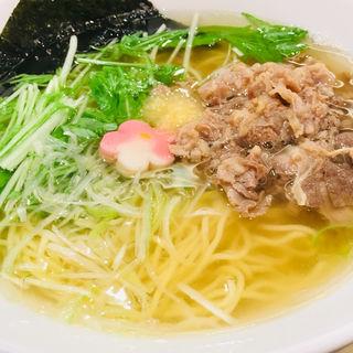 肉生姜ラーメン(京阿月 ポルタ店 )