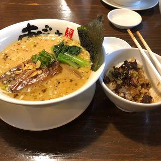 旨塩鶏麺 大盛(麺屋あごすけ (めんやあごすけ))