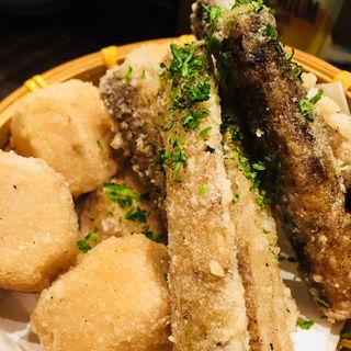 新ごぼうと里芋の唐揚(煉 大宮店)