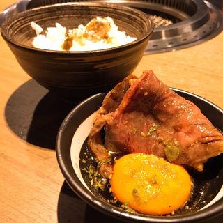 トリュフ釜飯(焼肉匠 勝善)
