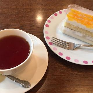 ケーキセット(モノクローム )