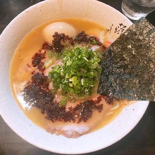鶏白湯ラーメン(藤しろ 三軒茶屋店)