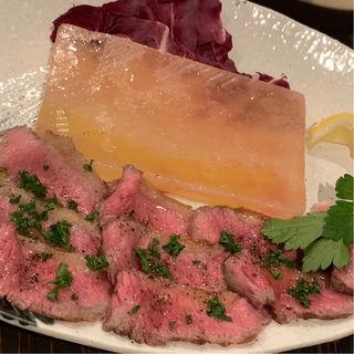 和牛のカルパッチョ(アン ドゥーズ キッチン (An-deuxs kitchen))