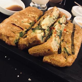 海鮮チヂミ(本家 ボンガ 新宿職安通り店)