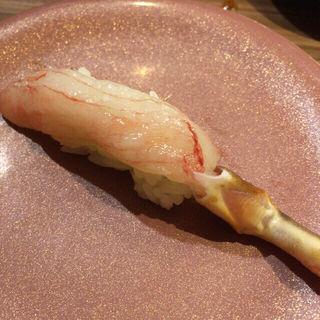 生タラバガニ(回転寿司 ぱさーる)