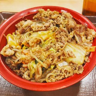 牛すき焼き丼(すき家 綾瀬駅南店 )