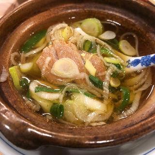 ねぎま汁(鯛壽司 (たいすし))