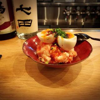 ラー油と明太子のポテトサラダ(金井商店)