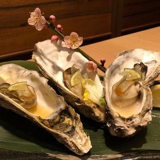 牡蠣のオーブン焼き (地鶏個室居酒屋 有明 京橋店  )