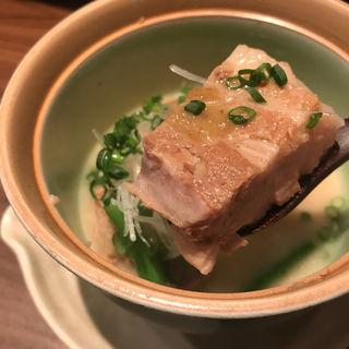 豚角煮(酒菜 おお木)