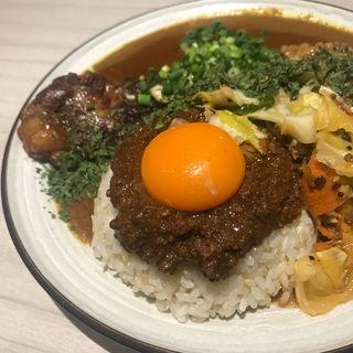 Mix キーマ、豚、中華アチャール、カスリメティ(吉田カレー  )