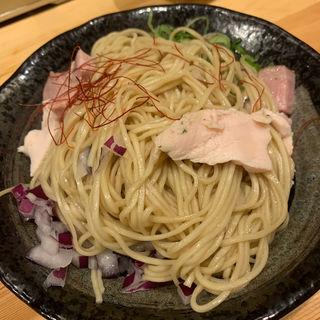 和え玉(自家製麺 竜葵)