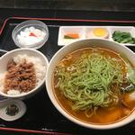 Bセット 天香 薬膳クロレラ入り麺