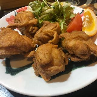 鶏の唐揚げ(はすのうてな)