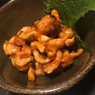 合いガモのチャンジャ(満彩)