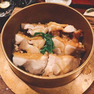 鶏釜飯(水たき玄海 新宿高島屋店)