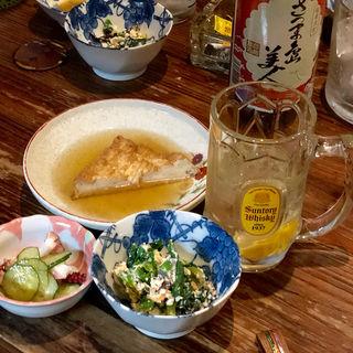 はしご酒メニュー(あいちゃん)