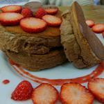 ショコラスフレパンケーキドリンクセット