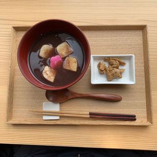 生麩ぜんざい(FUMUROYACAFE TOYAMAキラリ店 (トヤマキラリテン))