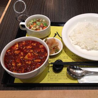 陳式麻婆豆腐、ライスセット(陳建一麻婆豆腐店みなとみらい店)