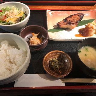 きんきの西京焼き定食(きんぎょ)