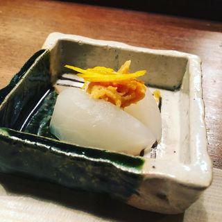 風呂吹き大根 柚子味噌かけ(馬場頭 ふろ (ババガシラフロ))