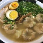 雲呑麺+醬蛋
