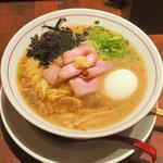 半熟味玉らぁ麺(Miso Noodle Spot 角栄 (KAKU-A))