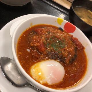 うまトマハンバーグ定食(松屋 )